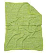Pletená deka pre najmenších Joy toTs-smarTrike 100% prírodná bavlna zelená
