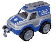 Dětské auto Policie BIG pracovní délka 33 cm od 2 let modro-šedé
