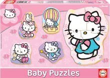 Baby puzzle Hello Kitty Educa od 24 mesiacov 5-obrázkové