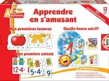 Joc de societate Apprendre en s'amusant Educa în limba franceză de la 4 ani