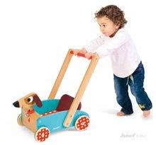 JANOD 05995 fa kiskocsi Vidám kutyus zenélő 1-4 éves korig