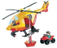 Staré položky - Stavebnice Abrick helikoptéra Écoiffier od 18 měsíců_0