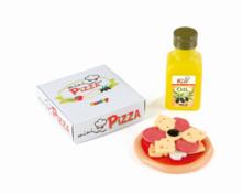 Riadíky a doplnky kuchynky - Mini pizza/mini hamburger Smoby so 7 doplnkami_2