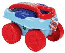 Stavebnica vo vozíku Abrick Maxi Écoiffier modrá so 40 veľkými kockami od 12 mesiacov 7713