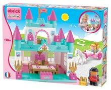 Stavebnice Abrick Velký zámek pro princeznu Écoiffier s kočárem a princeznou od 18 měsíců tyrkysový