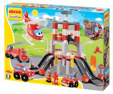 Stavebnica požiarna stanica Abrick Écoiffier s 3 autami a helikoptérou od 18 mesiacov 3039