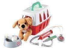 Zdravniška košara Écoiffier za psička s skledico in zdravniškimi dodatki od 18 mes