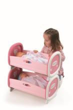 Postieľky a kolísky pre bábiky - Kolíska pre dve bábiky do 42 cm Baby Nurse Smoby poschodová od 24 mes_6