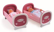 Postieľky a kolísky pre bábiky - Kolíska pre dve bábiky do 42 cm Baby Nurse Smoby poschodová od 24 mes_7