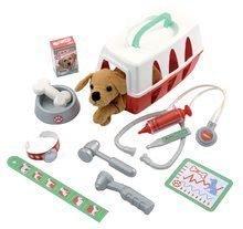 Lékařské vozíky pro děti - Veterinární klinika Écoiffier s pejskem v košíku 15 doplňků od 18 měsíců_0