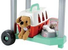 Lékařské vozíky pro děti - Veterinární klinika Écoiffier s pejskem v košíku 15 doplňků od 18 měsíců_1