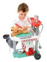 Lékařské vozíky pro děti - Veterinární klinika Écoiffier s pejskem v košíku 15 doplňků od 18 měsíců_3