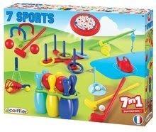 Sportovní hry pro nejmenší - 191 2 ecoiffier sportovy set