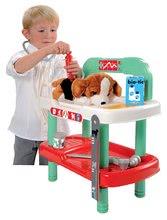 Staré položky - Veterinární stolek Écoiffier s plyšovým pejskem a lékařským kufříkem_4