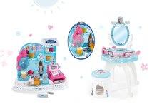 Kozmetické stolíky sety - Set kozmetický stolík Frozen Smoby so stoličkou a zmrzlináreň Frozen_16