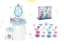 Kozmetické stolíky sety - Set kozmetický stolík Frozen Smoby so stoličkou a veľká čajová súprava Frozen_10