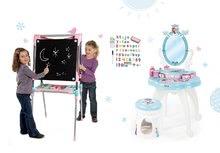 Kozmetické stolíky sety - Set kozmetický stolík Frozen Smoby so stoličkou a magnetická obojstranná tabuľa polohovateľná_22