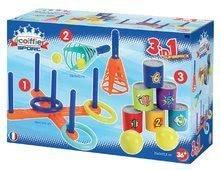 Sportjátékok a legkisebbeknek - Sport szett kertbe Sport 3in1 Écoiffier 3 fajta játék_1