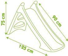 Šmykľavky pre deti  - Šmykľavka Toboggan XS Smoby s vodou dĺžka 90 cm červeno-zelená od 24 mes_1