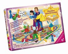DOHANY 618-2 Spoločenská hra klasická rozprávka - Snehulienka a sedem trpaslíkov, 34*24*4 cm