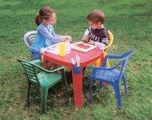 Detský záhradný nábytok - Stôl PalPlay s vreckami na rohoch_1