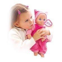 Dojenček z zvokom MiniKiss Smoby 27 cm od 12 mes