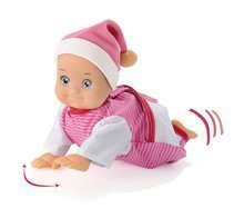 Dojenček z zvokom MiniKiss Smoby plazeči 27 cm od 12 mes