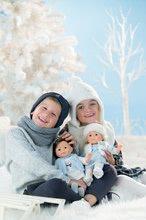 Panenky od 4 let - Panenka Priscille Ma Corolle bleděmodré šaty a modré mrkací oči 36 cm - Speciální edice od 4 let_2