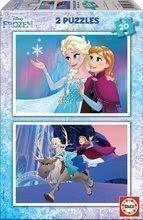 Dětské puzzle Frozen Educa 2x20 dílů