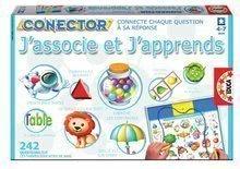 Joc educativ Conector J'associe et J'apprends Educa 242 întrebări în franceză de la 4 ani