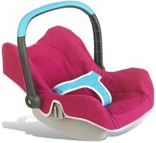Kočíky od 18 mesiacov - Sada stolička, autosedačka a hojdačka pre bábiku Maxi Cosi & Quinny 3v1 Smoby ružovo-modrá_8