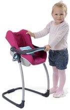 Kočíky od 18 mesiacov - Sada stolička, autosedačka a hojdačka pre bábiku Maxi Cosi & Quinny 3v1 Smoby ružovo-modrá_5