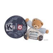 Ursuleţ de pluş Blue Denim-Chubby Bear Kaloo 18 cm în ambalaj de cadou pentru cei mai mici albastru