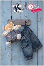 Plyšové medvede - Plyšový medvedík Blue Denim-Happy Chubby Bear Kaloo 25 cm v darčekovom balení pre najmenších_3