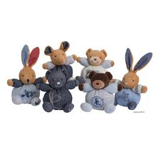 Plyšové medvede - Plyšový medvedík Blue Denim Kaloo 12 cm pre najmenších modrý_5