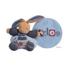 Iepuraş de pluş Blue Denim-Chubby Rabbit Kaloo 25 cm în ambalaj de cadou pentru cei mai mici albastru
