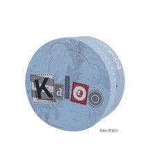 Hračky na maznanie a usínanie - Plyšový medvedík bábkové divadlo Blue Denim-Doudou Kaloo 18 cm v darčekovom balení pre najmenších modrý_5