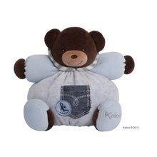 Kaloo plyšový macko Blue Denim-Chubby Bear 960059 modrý