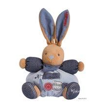 Hračky pre bábätká - Plyšový zajačik Blue Denim-Chubby Rabbit Kaloo 25 cm v darčekovom balení pre najmenších modrý_0