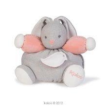 Plyšový zajačik Zen-Chubby Rabbit Kaloo s hrkálkou 30 cm v darčekovom balení pre najmenších šedý