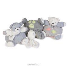 Plyšové medvede - Plyšový medvedík Zen-Chubby Bear Kaloo so šálom 25 cm v darčekovom balení pre najmenších sivý_0