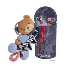 Hračky nad postieľku - Plyšový medvedík Blue Denim-Zig Kaloo spievajúci naťahovací 25-40 cm v darčekovom balení pre najmenších_0