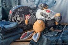 Hračky pre bábätká - Plyšový zajačik Blue Denim-Chubby Rabbit Kaloo 25 cm v darčekovom balení pre najmenších modrý_6