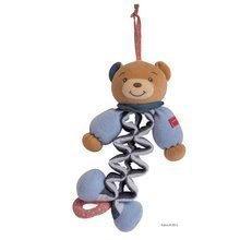 Plyšový medvídek Blue Denim-Zig Kaloo zpívající natahovací 25-40 cm v dárkovém balení
