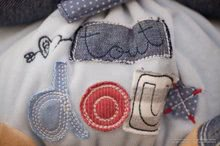 Hračky pre bábätká - Plyšový zajačik Blue Denim-Chubby Rabbit Kaloo 25 cm v darčekovom balení pre najmenších modrý_7