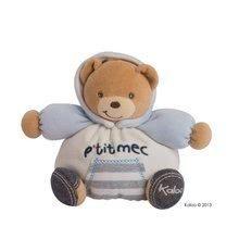 Kaloo plyšový medvedík Blue Denim-Chubby Bear 960060 modrý