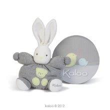 Plyšový králíček Zen-Chubby Knitted Kaloo 25 cm v dárkovém balení pro nejmenší pastelový