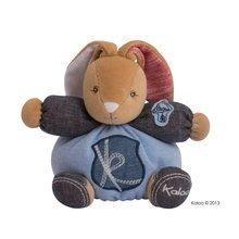 Iepuraş de pluş Blue Denim-Charming Rabbit Kaloo 18 cm în ambalaj de cadou pentru cei mai mici albastru