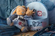 Hračky pre bábätká - Plyšový zajačik Blue Denim-Chubby Rabbit Kaloo 25 cm v darčekovom balení pre najmenších modrý_5