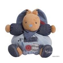 Kaloo plyšový zajac Blue Denim-Chubby Rabbit 960058 modrý